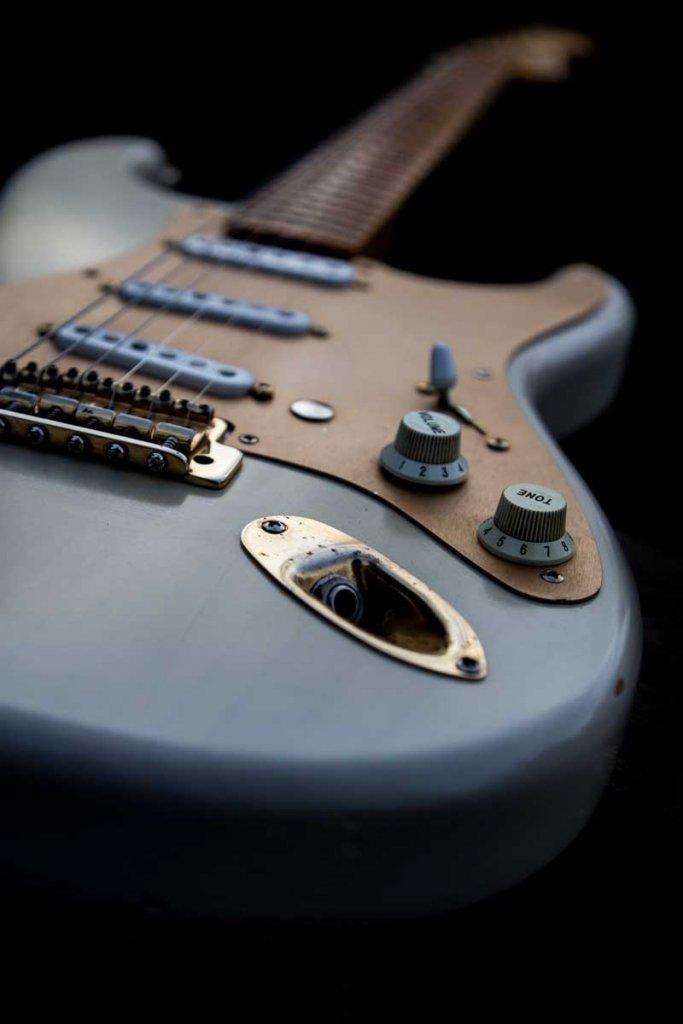 Custom Build, (Lil Larry Jr.) Mary Kaye Stratocaster