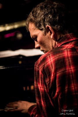 Chris Thile & Brad Mehldau, Live @ The Falcon, Marlboro, NY, December, 29th, 2015.  Photograph Copyright, John Rocklin. All rights reserved.